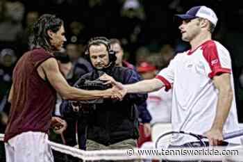 Andy Roddick scherzt:Rafael Nadal war 11,als ich einen Satz gegen ihn auf Sand gewann - Tennis World DE