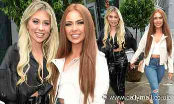 Love Island's Demi Jones beams as she reunites with co-star Paige Turley for night out