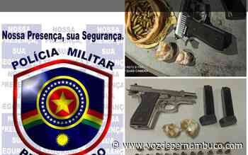 PM apreende drogas e arma com jovem em Carpina - Voz de Pernambuco