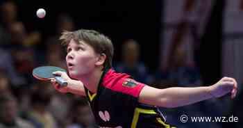 Tischtennis: Damen bestreiten erstes Düsseldorf Masters - Westdeutsche Zeitung