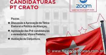 PT realiza encontro para debater candidaturas em Crato - Flavio Pinto
