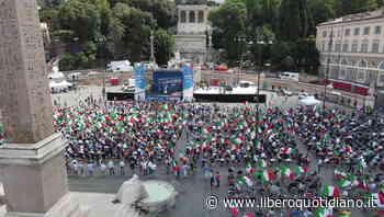 Centrodestra unito, piazza del Popolo vista dall'alto: le immagini suggestive - Liberoquotidiano.it
