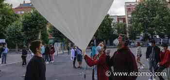 El colegio Samaniego lanza un globo a la estratosfera como proyecto de ciencias - El Correo