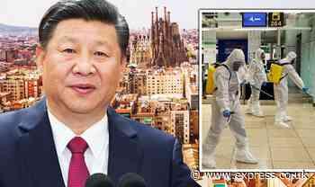 Now China blames SPAIN for coronavirus: Beijing says Covid-19 originated in BARCELONA - Express.co.uk
