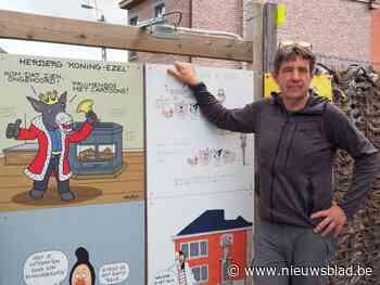 Cartoonwandeling en troubadour openen culturele zomer van He... (Lede) - Het Nieuwsblad