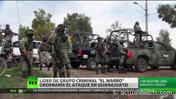 Apuntan al líder del cártel de Santa Rosa de Lima como presunto responsable del ataque al centro de rehabilitación en México - RT en Español