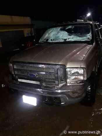 Hombre es capturado cuando disparaba al aire en Santa Rosa - Publinews Guatemala