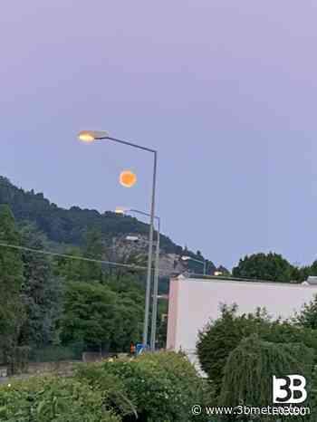 Foto Meteo: Luna Infuocata In Ranica - 3bmeteo