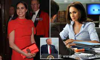 Meghan Markle 'to produce film adaptation of political novel' which may ruffle White House feathers