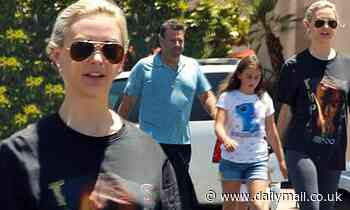 Lala Kent vacations with fiance Randall Emmett and his daughters in La Quinta, California