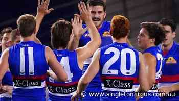 Bruce stars in Dogs' big AFL win over Roos - The Singleton Argus