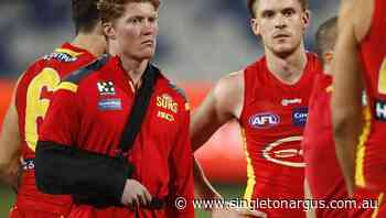 Suns anxious over Rowell AFL shoulder scan - The Singleton Argus