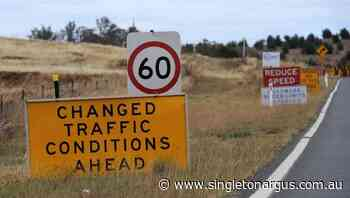 Changed traffic conditions on Beckers Bridge at Glendon Brook - The Singleton Argus