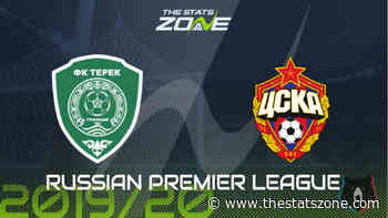 2019-20 Russian Premier League – Akhmat Grozny vs CSKA Moscow Preview & Prediction - The Stats Zone