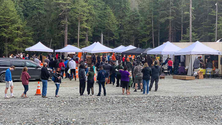 Central Council of Tlingit and Haida fireworks sale draws hundreds
