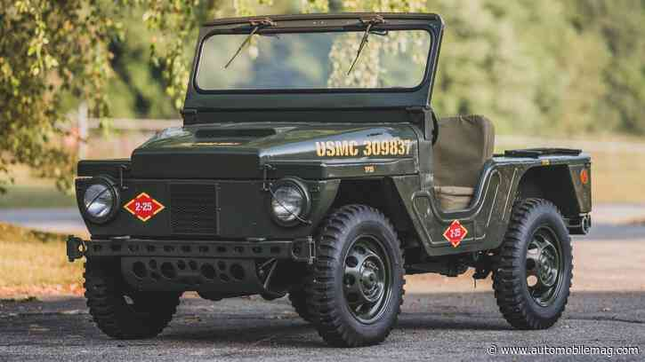 """What's Tinier Than a Willys Jeep But Just as """"Ooh Rah?"""" The Mighty Mite"""