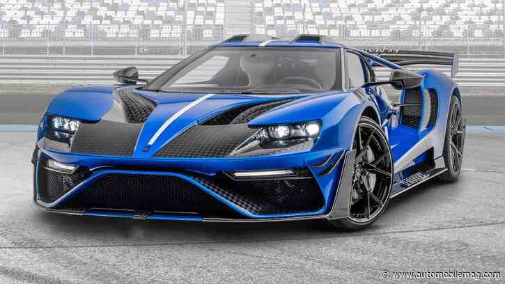 Look What Mansory Did to the Poor Ford GT