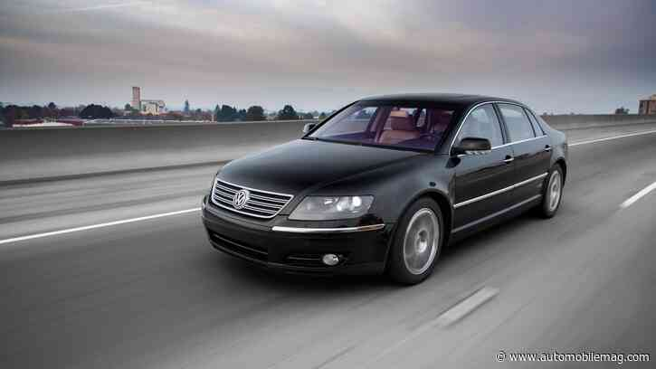 We Drive This Barn-Find 2004 Volkswagen Phaeton, and It Still Impresses