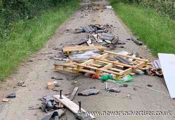 Fly-tipping hotspot addressed by council - Newark Advertiser