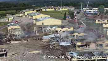Three held after Turkish factory blast - Bay Post/Moruya Examiner