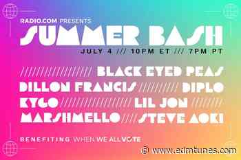 Summer Bash Presents The Black Eyed Peas, Dillon Francis, Kygo & More For 4th Of July - EDMTunes