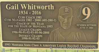 Former Dillon Cubs manager Gail Whitworth's legacy immortalized - MontanaSports