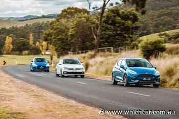 Ford Fiesta ST v Volkswagen Polo GTI v Suzuki Swift Sport hot hatch comparison - WhichCar