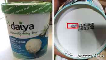 Daiya brand dairy-free ice cream recalled for undeclared milk