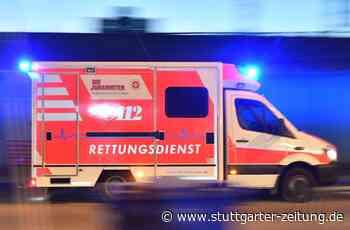 Unfall bei Bietigheim-Bissingen - 21-jähriger Motorradfahrer schwer verletzt - Stuttgarter Zeitung