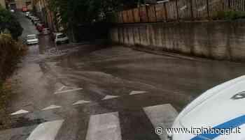 Avellino, forte pioggia e allagamenti: città bloccata - Irpiniaoggi.it