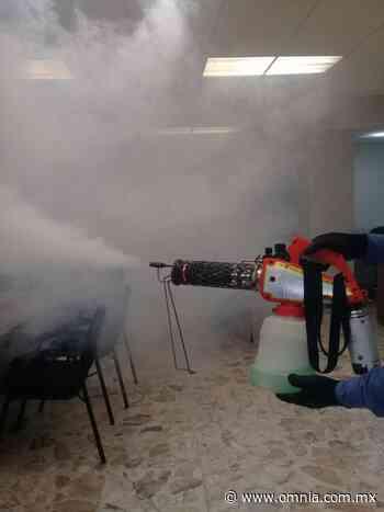 Sanitiza la Sedue oficinas en ciudad Delicias - Omnia