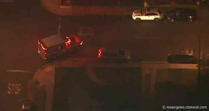 Officers Pursue Stolen Ambulance In The Maywood Area
