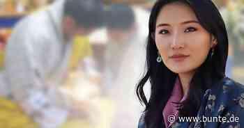 """Jetsun Pema von Bhutan: Dunkles Haar & kleine Pausbäckchen: Das """"Drachenbaby"""" ist zum Knuddeln - BUNTE.de"""