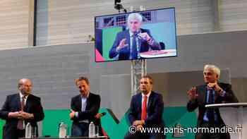 Coronavirus. Près de Bernay, le président de Région Hervé Morin rencontre entrepreneurs et élus - Paris-Normandie