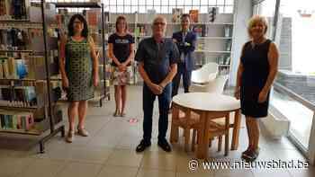 Bib Knesselare vervoegt zich bij de dienstverlening in het Contactpunt - Het Nieuwsblad