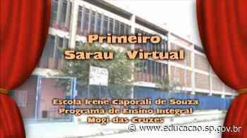 1° Sarau Virtual de escola de Mogi das Cruzes é lançado - Secretaria da Educação do Estado de São Paulo