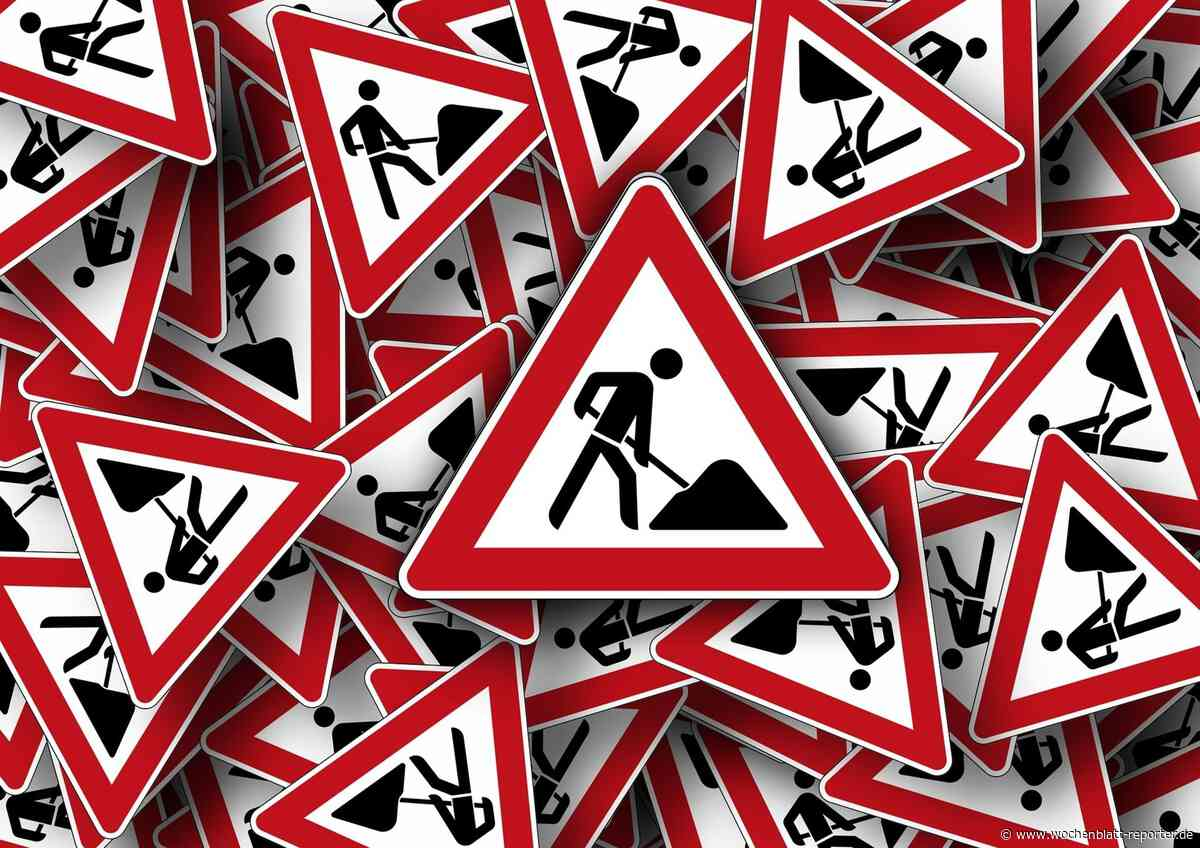 Tiefbauarbeiten bis Ende Juli: Mahlastraße gesperrt - Frankenthal - Wochenblatt-Reporter