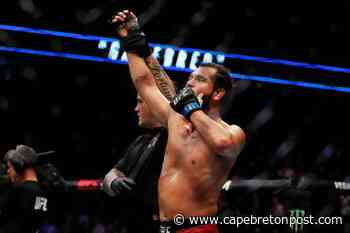 Reports: Burns out of UFC 251, Masvidal could replace - Cape Breton Post