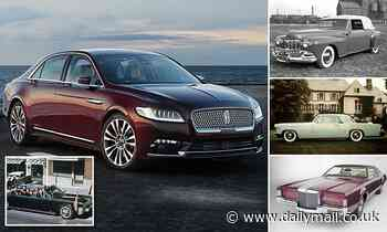 End of an era: Ford Motor Company says it is killing off 82-year-old historic Lincoln Continental - Daily Mail