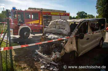 Bischofswerda: Autobrand wurde gelegt - Sächsische Zeitung