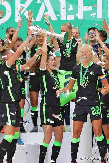 DFB-Pokalfinale der Frauen: die Siegerehrung - NDR.de