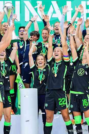 Frauen des VfL Wolfsburg erneut DFB-Pokalsieger - NDR.de