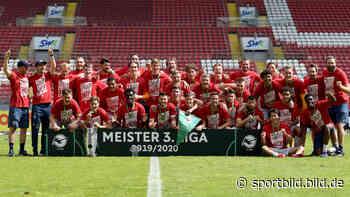 3. Liga: Bayern U23 ist Meister, Würzburger Kickers feiern Aufstieg - SportBILD