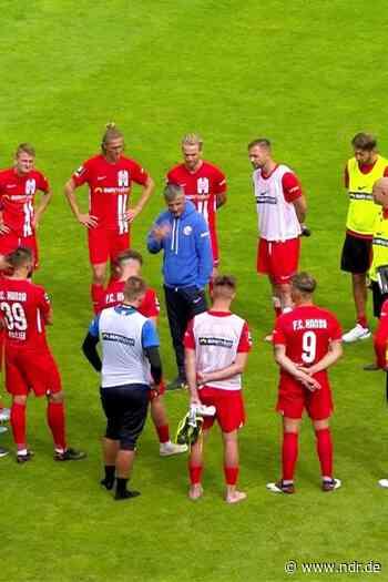 Relegation verpasst: Hansa Rostock unterliegt beim Chemnitzer FC - NDR.de