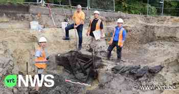 Assenede mosselgemeente? Archeologen ontdekken twee waterputten met daarin mosselen en schaaldieren - VRT NWS