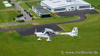 Gewerbestandort in Franzfelde: Pasewalk will Flugzeug-Zentrum noch in diesem Jahr verkaufen - Nordkurier