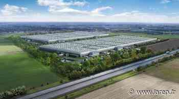 La plateforme de 103.000 mètres carrés en travaux à Meung-sur-Loire - La République du Centre