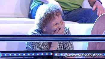 El sorprendente ataque de risa de Palmira en el peor momento de una concursante en '¡Ahora caigo!' - Antena 3