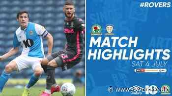 Highlights: Rovers v Leeds United