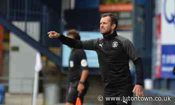 NATHAN JONES ON THE HOME DEFEAT TO READING - lutontown.co.uk